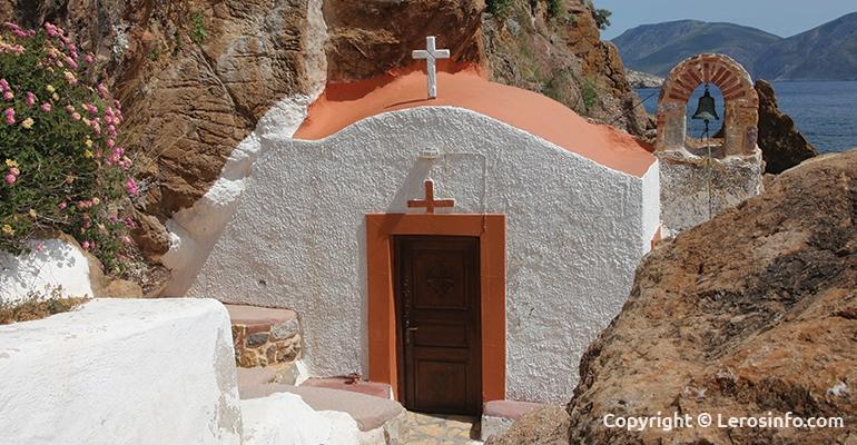 The castle of the Virgin Mary (Kavouradena)